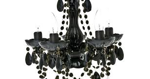 black chandelier lighting lamp shades and white check