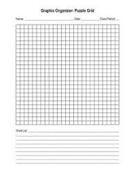 blank crossword puzzle grids printable blank crossword or word search puzzle grid printables template for