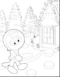 Gingerbread Coloring Pages Printable Gingerbread Man Coloring Page