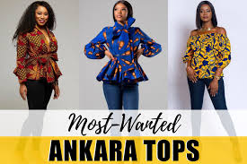 African Trousers Designs 20 Best Ankara Tops In 2020 Unique African Print Tops Worth