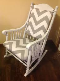 wood rocking chair pads outdoor wooden cushions terrific for baby with regard to cushion nursery remodel