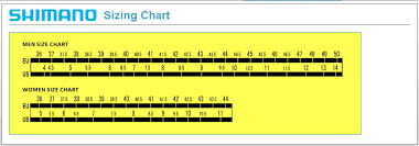 Shimano Shoe Size Chart Shimano Shoe Size Chart We Have Been Testing Them Out And