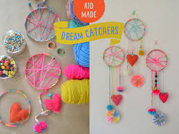 Dream Catcher Craft For Preschoolers Extraordinary DIY Dream Catchers Made By Kids ARTBAR