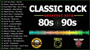80s Pop Charts Classic Rock 80s And 90s Best Rock Songs Of The 80s And 90s