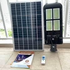 Đèn đường năng lượng mặt trời mẫu bàn chải 4 mắt 200w | ZALAA Lighting -  Gia công đèn led và đèn đường năng lượng mặt trời