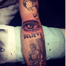 Justin Bieber Tattoo Guide And Meanings From New Face Tattoo To