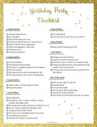 Birthday Planner Template Stunning Party Planning Template Party Planning Checklist Pinterest