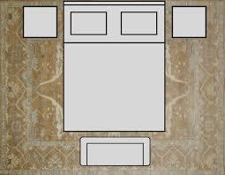 bedroom king size bed 12x15 rug