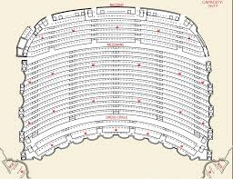 Upper Level Seating Chart For The Boston Opera House