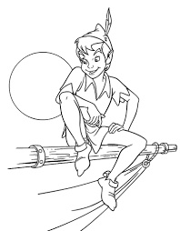 Small Picture Free Printable Peter Pan Coloring Pages For Kids Within Of esonme