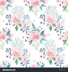 cute flower pattern wallpaper. Wonderful Wallpaper Watercolor Floral Pattern With Roses Cute Wallpaper Throughout Cute Flower Pattern Wallpaper T