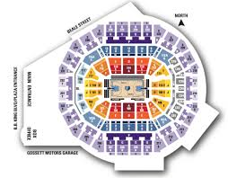 Grizzlies Seating Chart Seating Chart