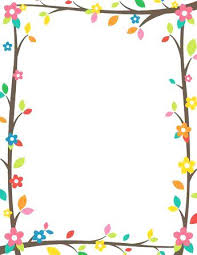 Free Tree Branch Border Templates Including Printable Paper And Clip