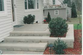 Cinder Block Stairs We Build Quality Steps And Porches In The Ann Arbor Area