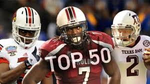 Top 50 College Football Players In 2013