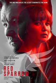 Red Sparrow poster 2018. #redsparrow #jenniferlawrence #movie #poster |  Jennifer lawrence red sparrow, Red sparrow, Jennifer lawrence movies
