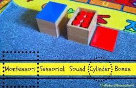 Sensorial Archives - Page 2 of 12 - The Natural Homeschool | Montessori  sensorial, Montessori, Sound boxes
