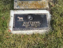 Agnes Myrtle Archibald Matthews (1915-2007) - Find A Grave Memorial