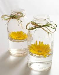 Glass Jar Table Decorations Easy DIY Mason Jar Ideas For A Rustic Baby Shower 80