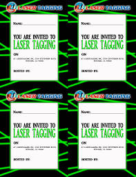 Free Laser Tag Invitation Template Pin By Anggunstore On Invitations Templates By