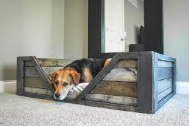 rustic furniture diy. Dog Bed Rustic Furniture Diy