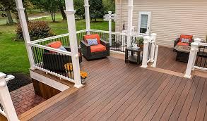 best decking material wood vinyl or