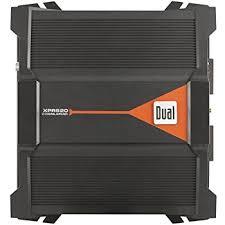 amazon com dual xpe2700 400 watt peak 2 channel amplifier cell dual xpr520 2 channel bridgeable amplifier