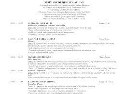 Employment History Template Mesmerizing Resume Employment History Example Job Template Work Examples Writing