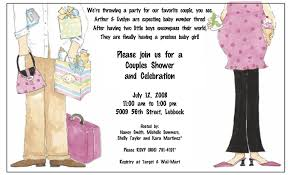 Couples Baby Shower Invitation Wording Theruntime Com