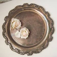Decorative Metal Serving Trays Best Metal Serving Trays Platters Products on Wanelo 46