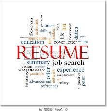 resume print free art print of resume word cloud concept resume word cloud