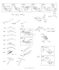 Briggs and stratton 128m02 0017 f1 parts diagram for controls