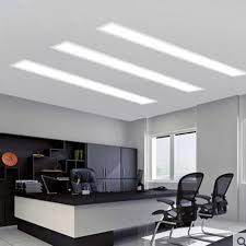 office ceiling lamps. Recessed Led Strip Light Rectangular Office Ceiling Lamp Balcony Porch  Corridor Concealed Lamps Lighting
