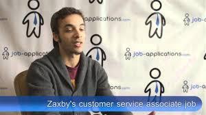 zaxby s interview customer service associate zaxby s interview customer service associate