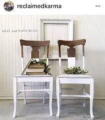 furniture upcycling ideas. Upcycled Dining Chairs | White #UpcycledDiningChairs Furniture Upcycling Ideas