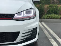 Mk7 Lighting Package Finally Caved And Went With The Aftermarket Lighting Package