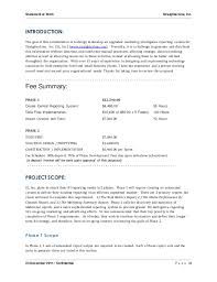 It Statement Of Work Software Project Statement Of Work Document Sample