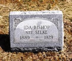 Ida Selke Bishop (1889-1929) - Find A Grave Memorial