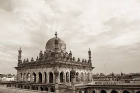 bijapur a photo essay tugging my luggage one of the structures at ibrahim rouza the tomb of adil shah ii is here it is believed that ibrahim rouza served as an inspiration to taj mahal