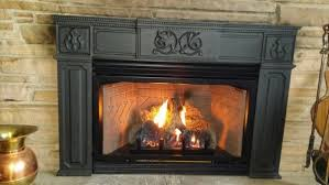 empire small innsbrook vent free gas fireplace insert with millivolt rh efireplace com empire ventless gas stove empire fireplace logs