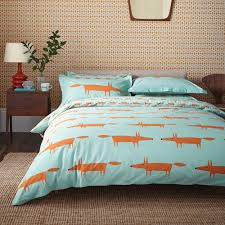 scion mr fox duvet cover set disc