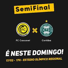 Tudo o que você precisa saber sobre a semifinal FC Cascavel x Coritiba - FC  Cascavel