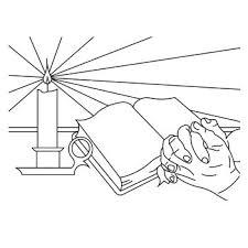 Bidden Bijbel Lezen Download De Kleurplaat Op Wwwdichter Bijnl