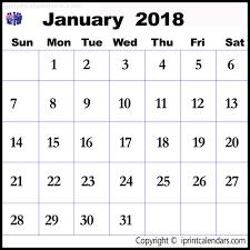 january 2018 calendar free 2018 calendar australia calendar month printable