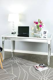 office desk mirror. Interesting Office Furniture Beveled Mirrored Accent 1 Drawer Office Writing Desk Hooker With  Regard To And Mirror R