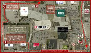 iuosu football game day parking info parking rules office of