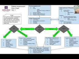 Patient Assessment Flow Chart Overview Explanation