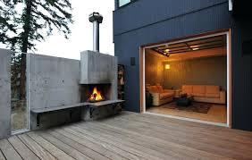 cast concrete fireplace precast repair landatim concrete block outdoor fireplace nz