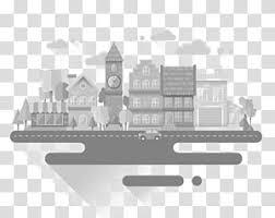 Cityscape Skyline Illustration City Transparent Background Png Clip