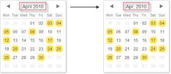 Mini Calendar Date Picker Scheduler Docs